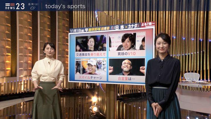 2019年10月25日小川彩佳の画像10枚目