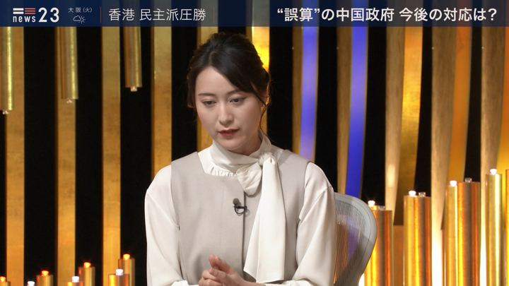 2019年11月25日小川彩佳の画像14枚目
