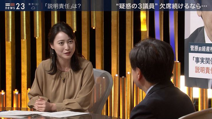 2019年12月06日小川彩佳の画像06枚目