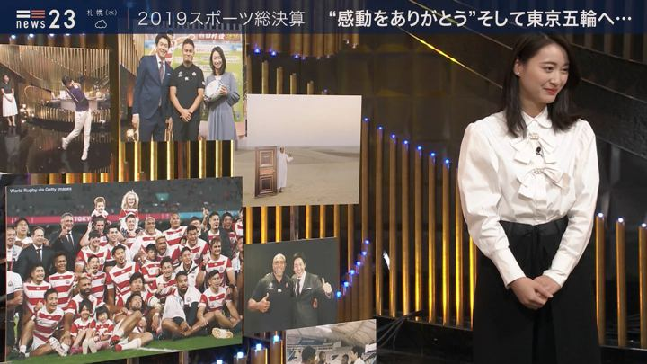 2019年12月24日小川彩佳の画像14枚目