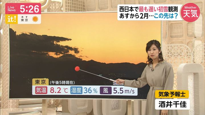 2020年01月31日酒井千佳の画像01枚目