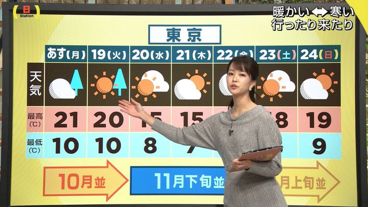 2019年11月17日下村彩里の画像08枚目