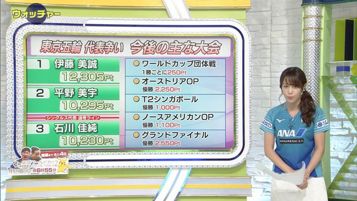 2019年11月02日鷲見玲奈の画像14枚目
