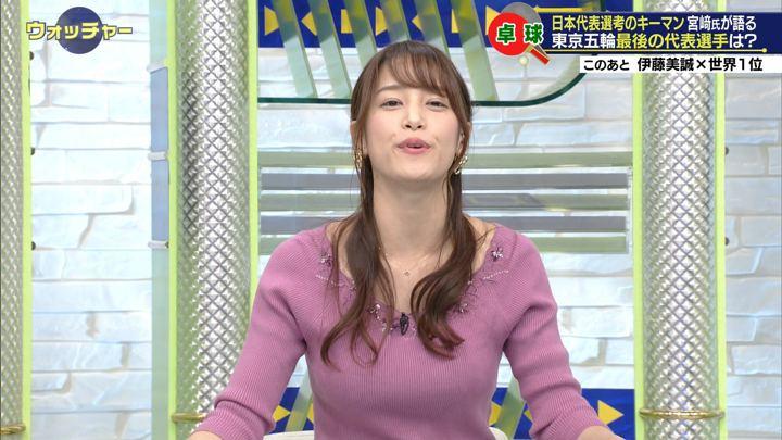 2019年12月14日鷲見玲奈の画像14枚目