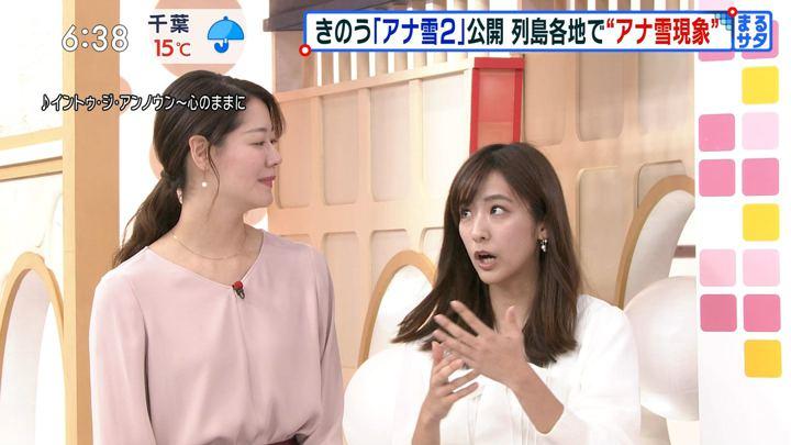 2019年11月23日田村真子の画像13枚目