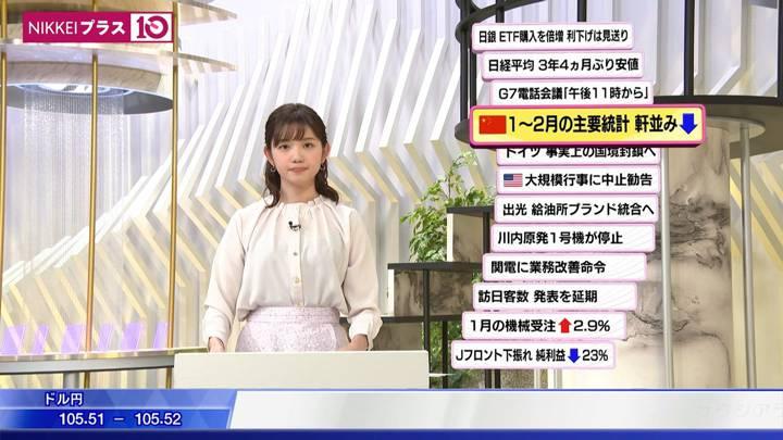 2020年03月16日田中瞳の画像05枚目