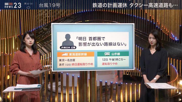 2019年10月11日山本恵里伽の画像03枚目