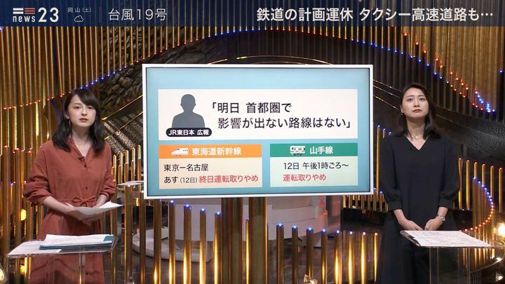 2019年10月11日山本恵里伽の画像04枚目