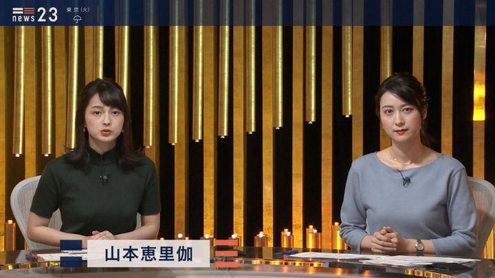 2019年10月21日山本恵里伽の画像02枚目