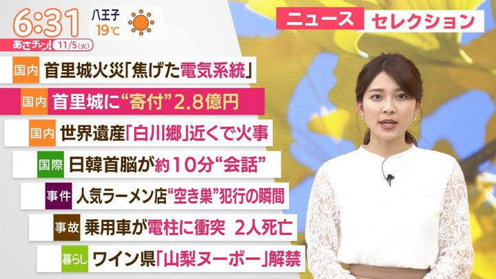 2019年11月05日山本里菜の画像05枚目