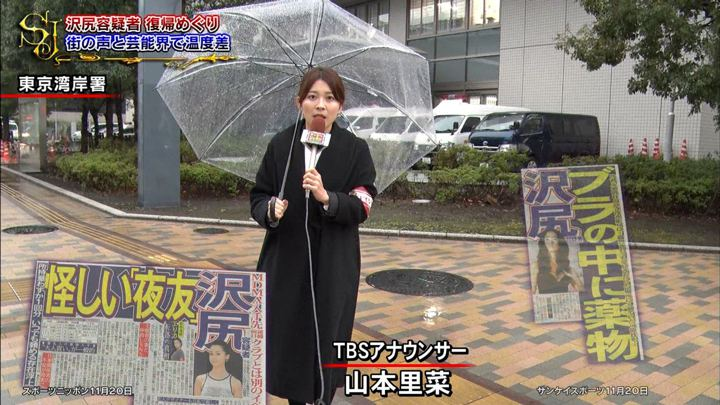 2019年11月24日山本里菜の画像10枚目