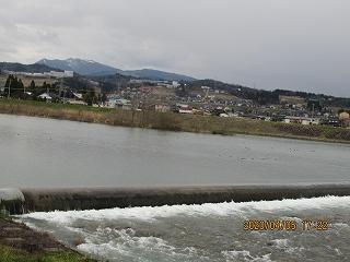 s-405堰の流れ