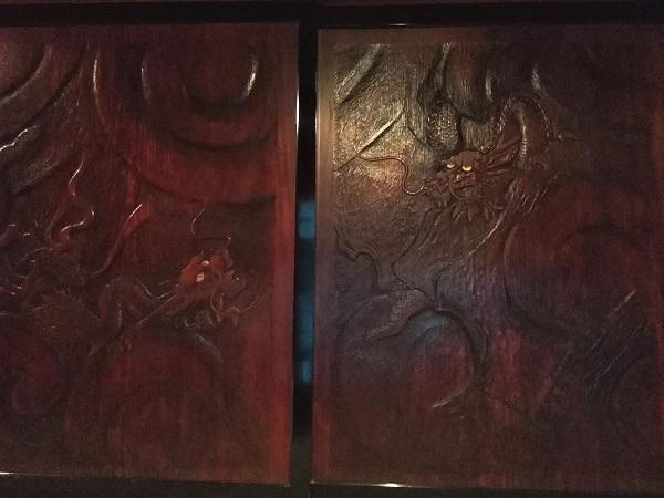 双竜の板戸