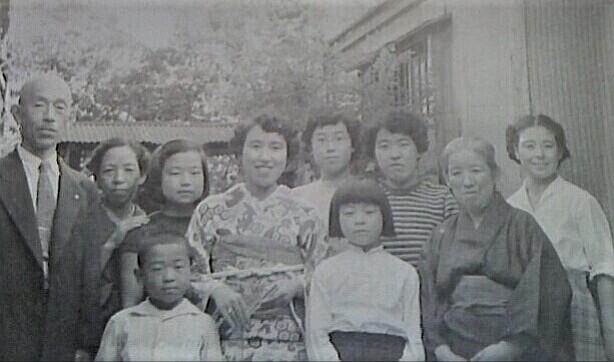 興津の家族