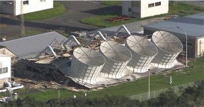 台風で倒壊 原子力関連施設の外壁にアスベスト5lJwe4a8