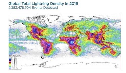 雷lightning-hot-spots-around-the-world