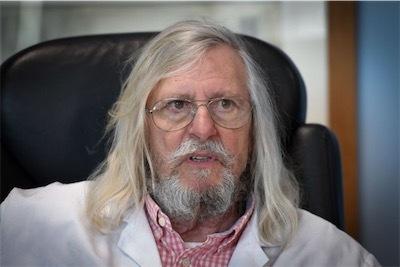 感染症の権威ディディエ・ラウル博士raoult-P