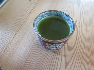 モリンガパウダーと日本茶IMG_6643