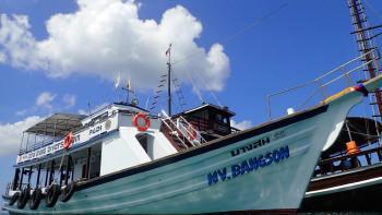 バンソン号、ダイビング船