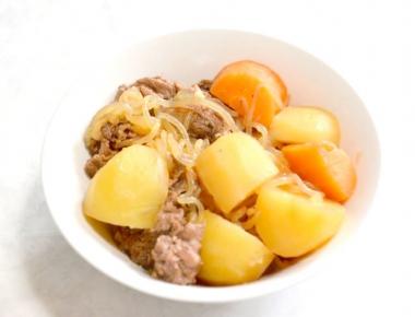キッコーニホン 日本醤油工業 ブタ丼 豚丼のタレ_アレンジレシピ 肉じゃが