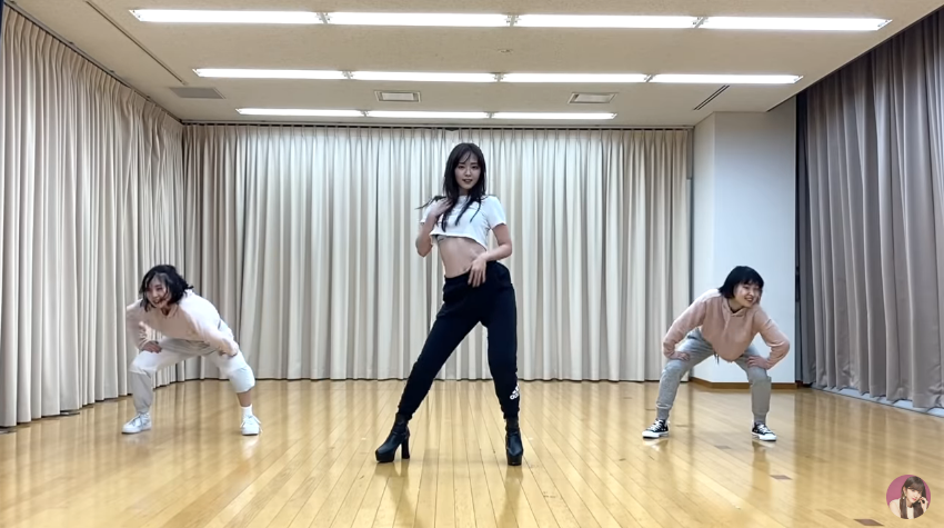 "鈴木愛理 ""DISTANCE""DANCE PRACTICE VIDEO01"
