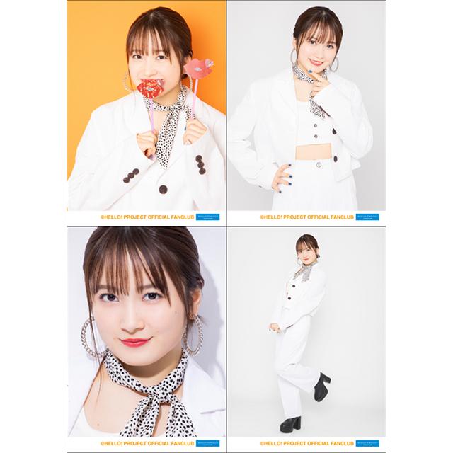 モーニング娘。20 森戸知沙希バースデーイベント グッズ02 L判生写真4枚セット