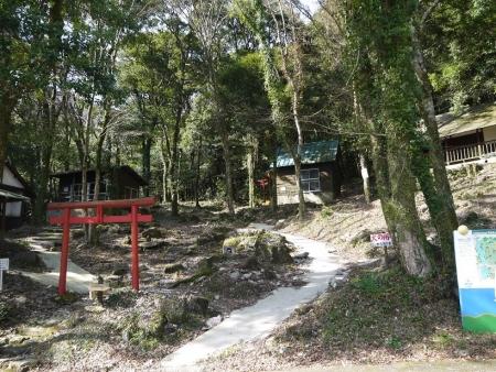 中山キャンプ場・登山口
