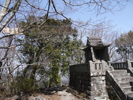 多良岳山頂