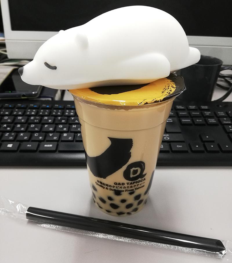 Q&D tapioca本場台湾のタピオカミルクティー2