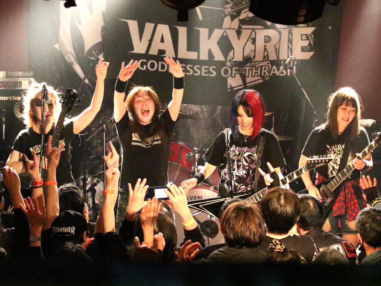 VALKYRIE(ヴァルキューレ)2020年2月NERVOSAジャパンツアー(の思い出)