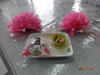 桜餅(おやつ)