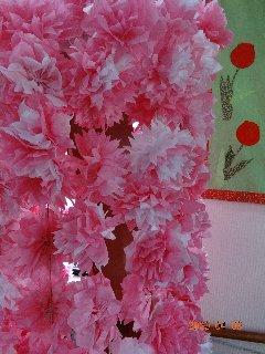 桜の木(寄り)