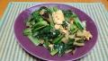 豚肉と小松菜の玉子炒め 20200401