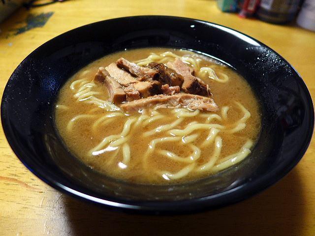 【お持ち帰り】自己流ラーメン 綿麺@01お家で綿麺 和風とんこつ 3