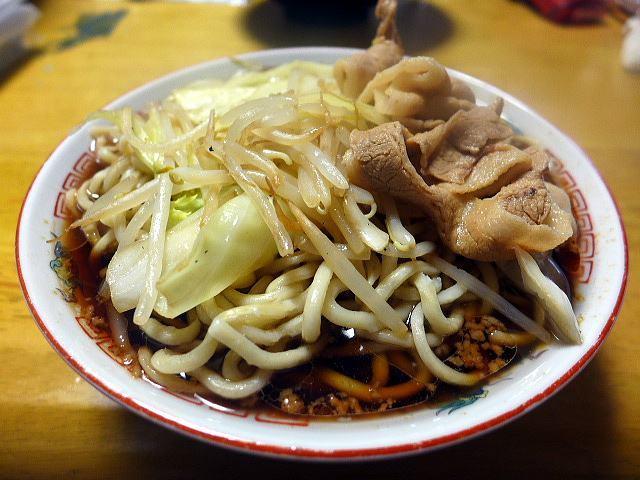 麺屋 わっしょい@01お持ち帰り男の根性黒醤油 冷凍麺 3