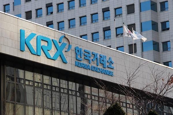 写真はソウルの証券取引所