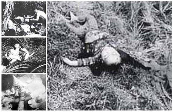1968年2月12日、フォンニィ・フォンニャット村を訪れた韓国海兵隊第2海兵師団(青龍部隊)第1大隊は婦女子を集めると至近距離から銃殺、刺殺し火を付け立ち去った。