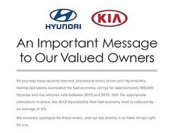 韓国の現代自動車(ヒュンダイ)と傘下の起亜自動車の燃費虚偽表示