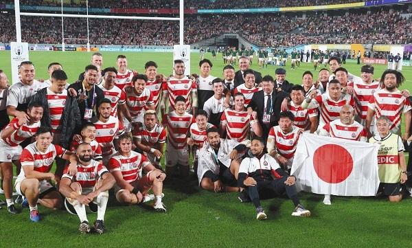 ありがとうラグビー日本代表。南アフリカに敗れて史上初ベスト8で大会終える