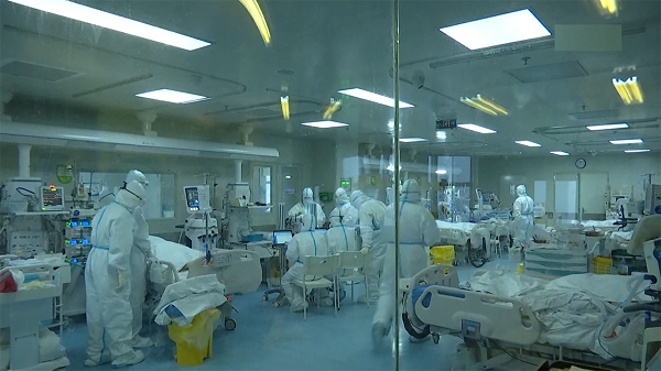 新型肺炎 中国本土の死者56人に 感染者 1日で600人超増