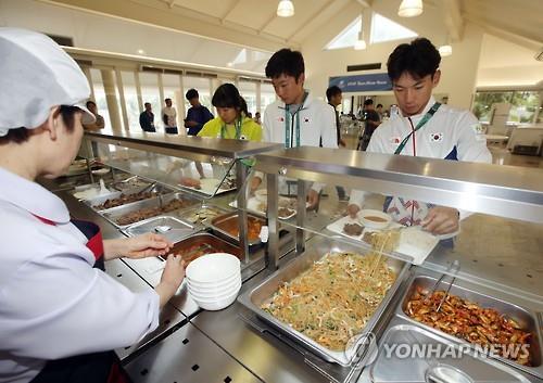 リオ五輪の際に設置されたコリアハウス内の食堂では韓国料理が提供された(資料写真)=(聯合ニュース)