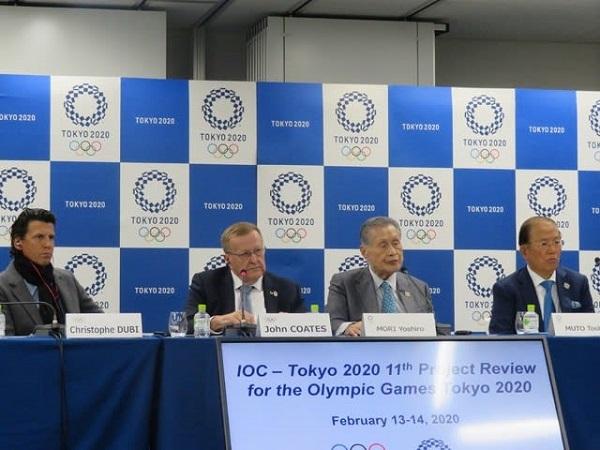 五輪準備「良い形で進んでいる」 IOC幹部が評価