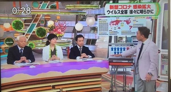 デマで有名になった「ナビタスクリニック」の新宿院長の濱木珠恵が頻繁にTBS「ひるおび!」に生出演して、安倍政権の武漢ウイルス対策について猛批判