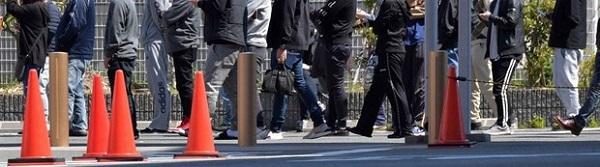 店名公表パチンコ店、堺では300人行列 住民「ウイルス持ち込むかも、怖い」