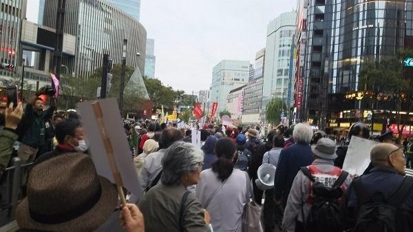 「即位式反対デモ」に参加したパヨクは複数逮捕された!