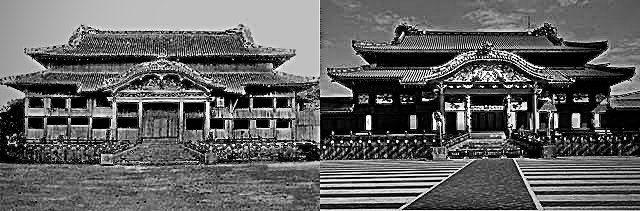 20191103売国のシンボル首里城!復元するなら黒に戻し沖縄神社も戻し支那の冊封儀式【三跪九叩頭の礼】やめろ
