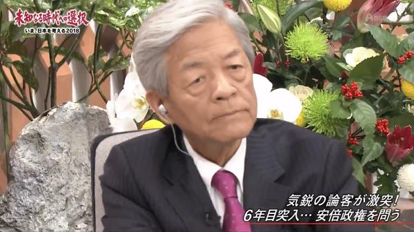 「(北の脅威を)安倍総理が煽ってるせいで国民が怖がってる」 とボケ発言をした田原総一朗に対し、長谷川幸洋は次の強烈な反論をした!