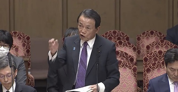 音喜多駿「韓国からスワップを望む声が」 麻生大臣「『日本が頼むなら借りてやる』… 話にならない」