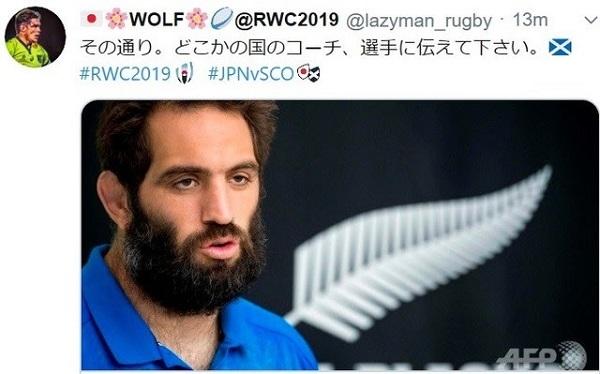 優勝候補であるニュージーランド代表(オールブラックス)のサム・ホワイトロック選手が「(台風19号と比べれば)ラグビーはささいなこと」と言ったこととは、対照的だった。