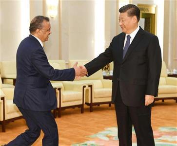 20200215WHO「中国の武漢封鎖は良いこと!他国の渡航制限や国境封鎖は悪いこと!」・テドロスのダブスタ中国の影響が強いエチオピア出身のテドロスWHO事務局長(AP)